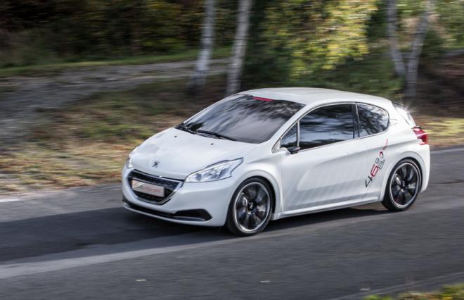 Peugeot 208 concept car